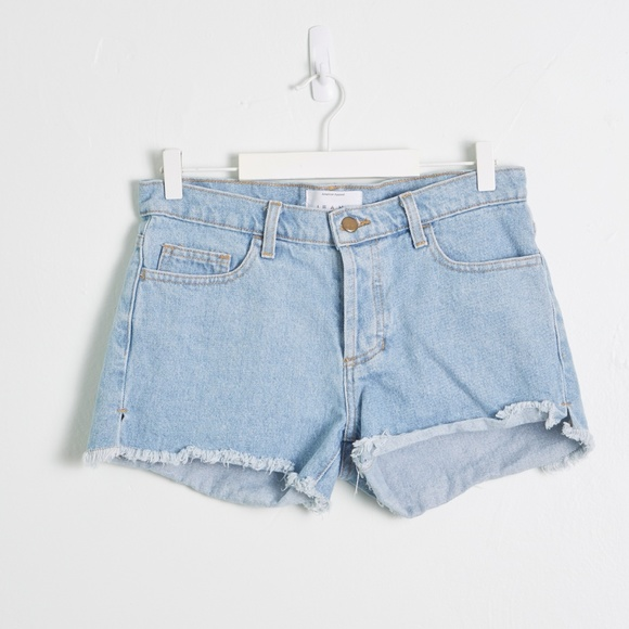 American Apparel Pants - American Apparel Light Wash Denim Cutoff Shorts